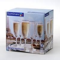 Бокалы для шампанского Luminarc French Brasserie H9452 170мл. 6шт