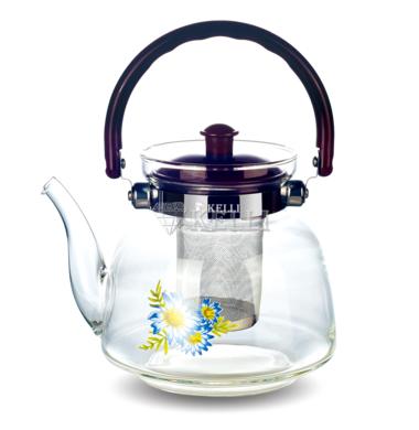 Чайник стеклянный Kelli KL 3003 1.8л