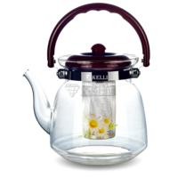 Чайник стеклянный Kelli KL 3005 0.6л