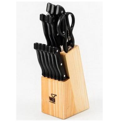 Набор ножей кухонных Wellberg WB 5080