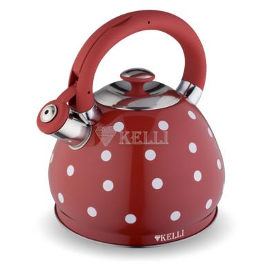 Чайник металлический Kelli KL 4313 3.0л