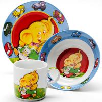 """Набор посуды детской """"Слон"""" Loraine LR 24021"""