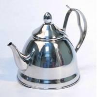 Чайник металлический Kelli KL 4329 с ситечком 1л