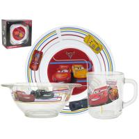 Набор посуды детской Luminarc CARS-3 (H1914)