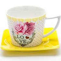 Чайная пара «LOVE» Loraine MB 24711