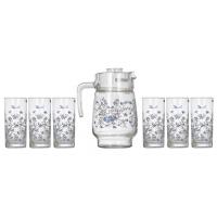 Набор кувшин + стаканы Luminarc Arcopal Romantique N3217