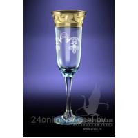 """Бокалы для шампанского """"Юнона"""" GE-883 6 шт"""