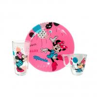 """Набор посуды детской """"Party Minnie"""" Luminarc L4877"""