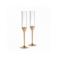 Бокалы для шампанского Wedgwood VW Love Knots Gold 2 шт