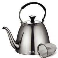 Металлический заварочный чайник Kelli KL-4516 1 л