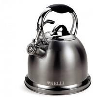 Чайник металлический Kelli KL-4523 3 л
