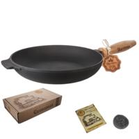 Сковорода чугунная Maysternya Т302 24 см