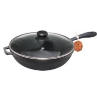 Сковорода чугунная литая Maysternya Т203С3 26 см