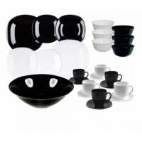 Столовый сервиз Luminarc Carine Black&White P8043 38 пр