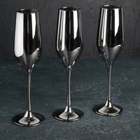 Бокалы для шампанского Luminarc Celeste Shiny graphite P8273 3 шт