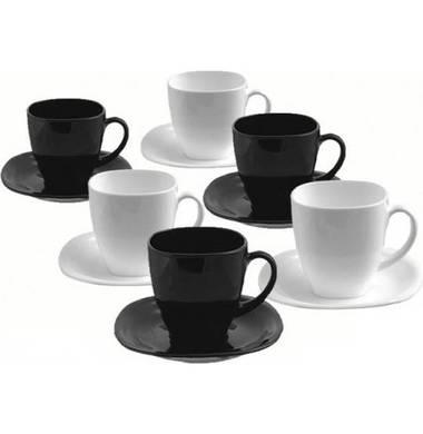 Сервиз чайный Luminarc Carine Black&White D2371