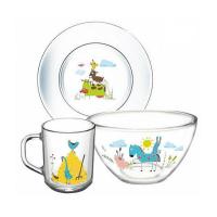 Набор посуды детской ОСЗ Забавные животные H19143