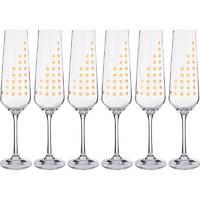 Набор бокалов для шампанского Crystalite Bohemia Sandra 674-637 6 шт