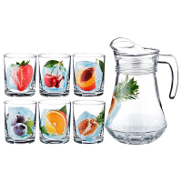 """Набор для сока кувшин + стаканы """"Фрукты во льду"""" 484-739"""