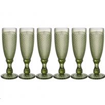 Набор бокалов для шампанского Lefard Muza Color Гранат 781-153 6 шт