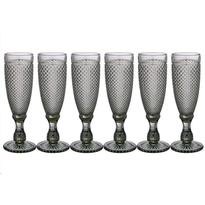 Набор бокалов для шампанского Lefard Muza Color Гранат 781-154 6 шт