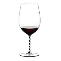 Бокал для вина Riedel Bordeaux Grand Cru Fatto a Mano черно-белый