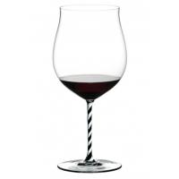 Бокал для вина Riedel Burgundy Grand Cru Fatto a Mano черно-белый
