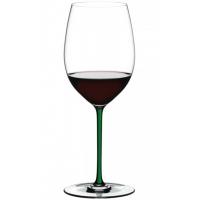 Бокал для вина Riedel Cabernet/Merlot Fatto a Mano зеленый