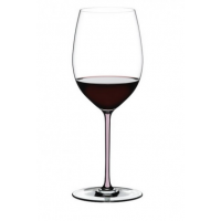 Бокал для вина Riedel Cabernet/Merlot Fatto a Mano розовый