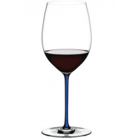 Бокал для вина Riedel Cabernet/Merlot Fatto a Mano синий