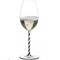 Бокал для вина Riedel Champagne Fatto a Mano черно-белый