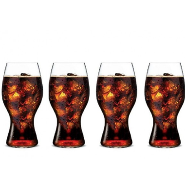 Набор стаканов для Coca-Cola Riedel O Wine Tumbler 4 шт