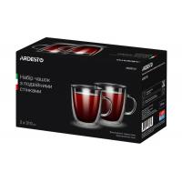 Набор чашек с двойными стенками Ardesto AR2631GH 310 мл