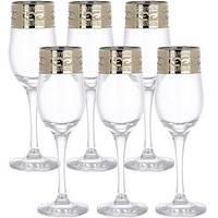 Набор бокалов для шампанского Гусь-Хрустальный EAV08-160 6 шт