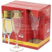 Набор бокалов для шампанского Гусь-Хрустальный EAV-1687 6 шт