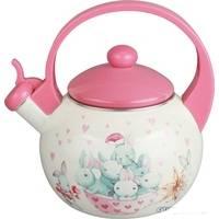 Чайник эмалированный Kelli KL-4199 2,5 л