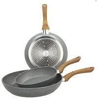 Набор сковородок Tognana Grancucina Stone&Wood V779133MGRW 3пр