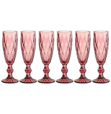 Набор бокалов для шампанского Lefard Muza Color 781-114 6 шт