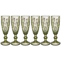 Набор бокалов для шампанского Lefard Muza Color 781-115 6 шт