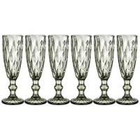 Набор бокалов для шампанского Lefard Muza Color 781-116 6 шт