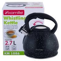Чайник металлический Kamille KM-1086 2.7 л